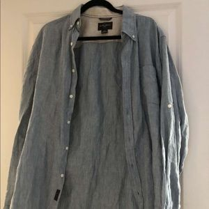 Black Brown 1826  Dress Shirt